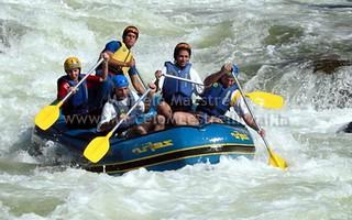 Rafting no Rio Preto - Caconde - SP