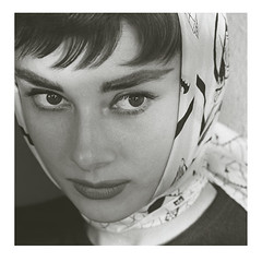 audrey hepburn | by fred baby