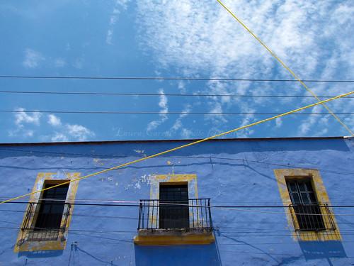 Dos azules