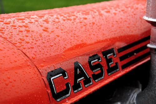 orange tractor rural farm vivid case vac ih internationalharvester casevac caseih