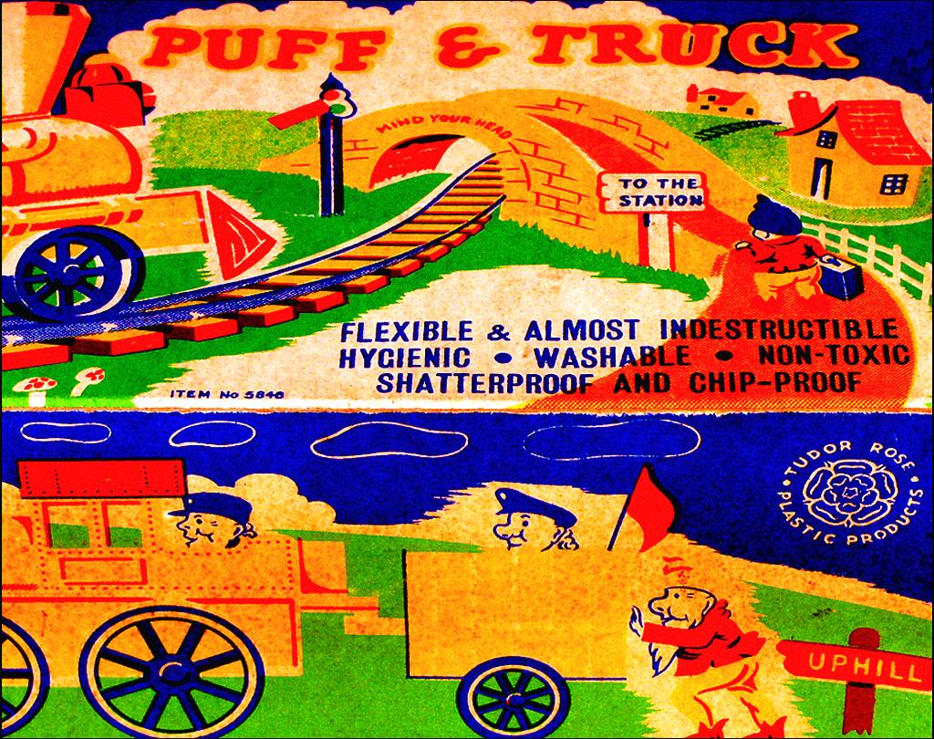 Polyethylene toy train / Tudor Rose Plastic Products UK   Flickr