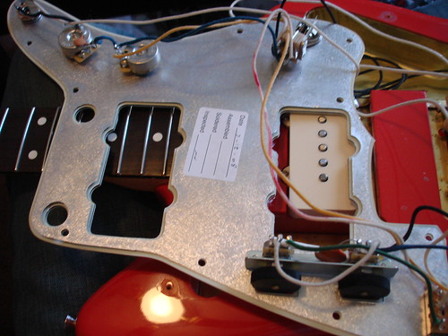 Disection of a Jazzmaster