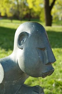 Botanisk hage - skulptur
