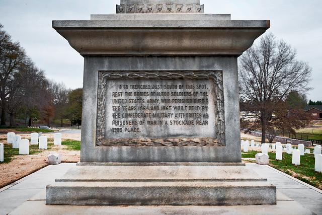 Federal Monument to the Unknown Dead (1876), Salisbury National Cemetery, Salisbury, North Carolina