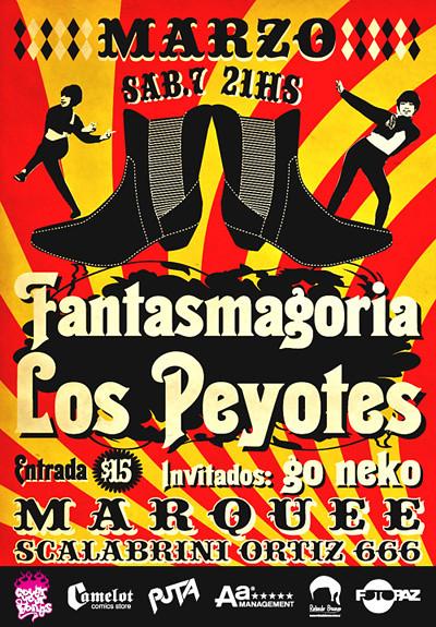 Los Peyotes + Fantasmagoria