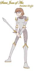 Anime Saint Joan of Arc 2009