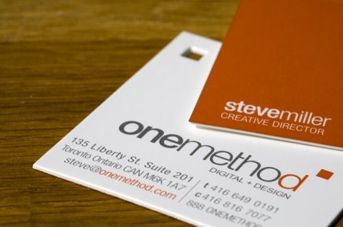 The OneMethod Business Card | by OneMethod
