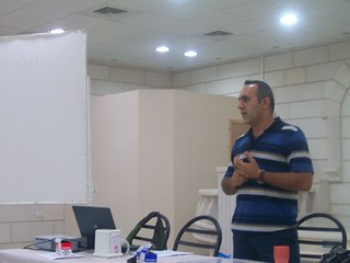 Mohammad opens the training | by The Advocacy Project