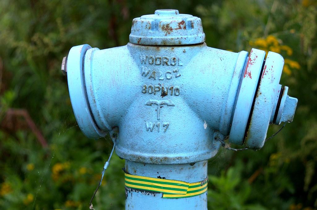 Hydrant z Wałcza / Fire hydrant of Wałcz