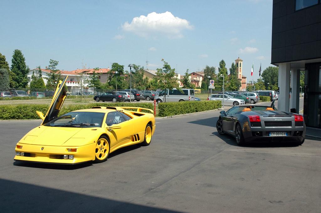Lamborghini Diablo Se30 Anniversary Tuned And Gallardo S Flickr
