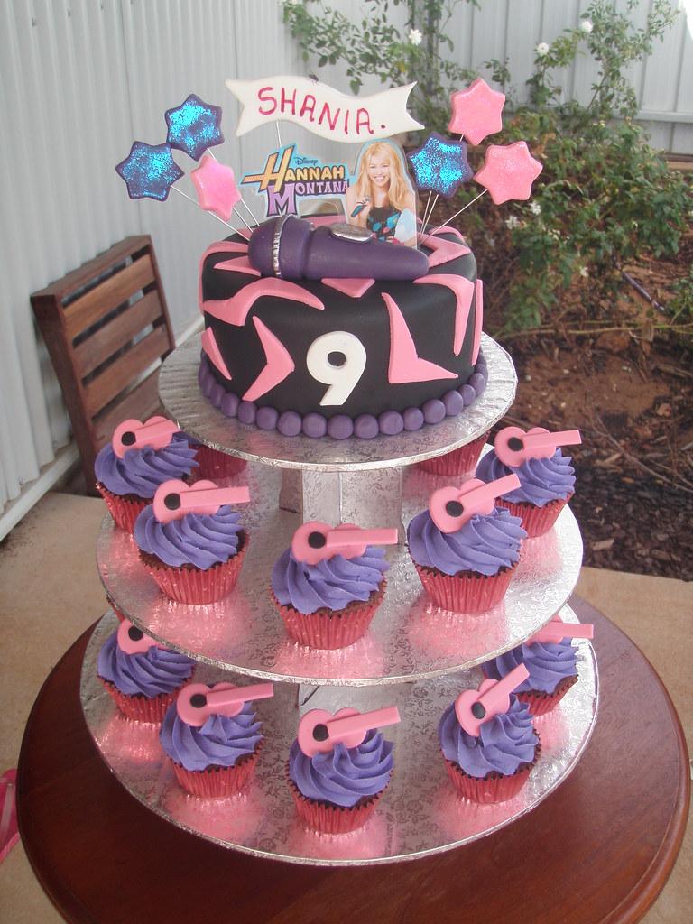 Miraculous Mossys Masterpiece Shanias 9Th Birthday Cake Cupcake Flickr Birthday Cards Printable Inklcafe Filternl