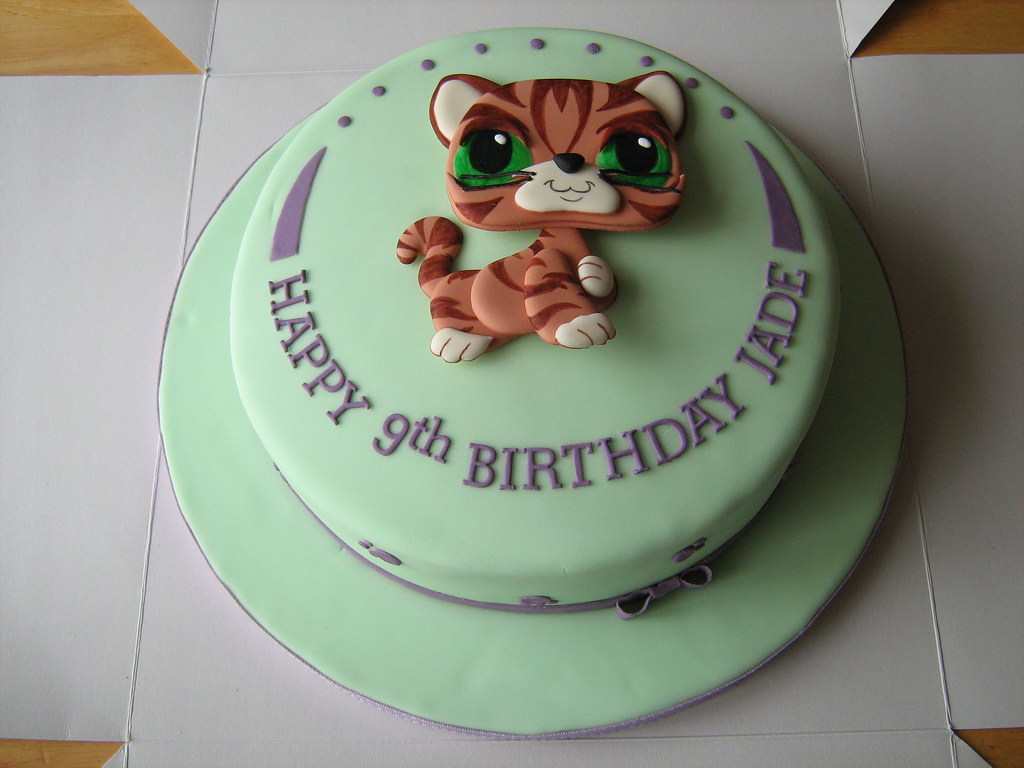 Remarkable Littlest Pet Shop Birthday Cake A Littlest Pet Shop Fans Flickr Funny Birthday Cards Online Elaedamsfinfo