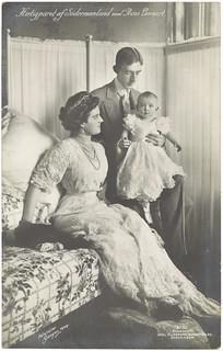 Hertigparet af Södermanland med Prins Lennart (1909)