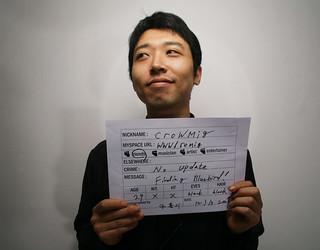 myspace mugshot series- kyungnam