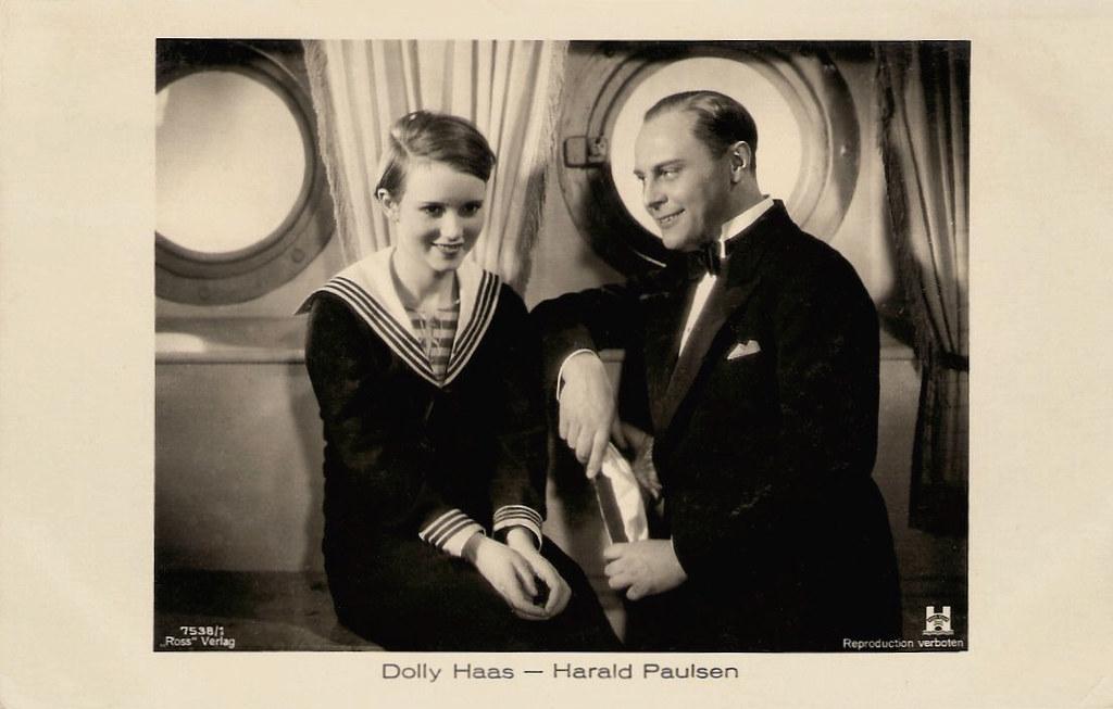 Dolly Haas And Harald Paulsen In Die Kleine Schwindlerin