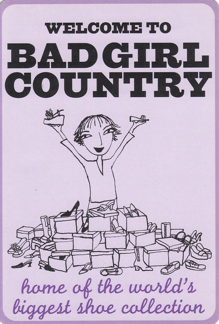 Bad Girl Cartoon Postcard