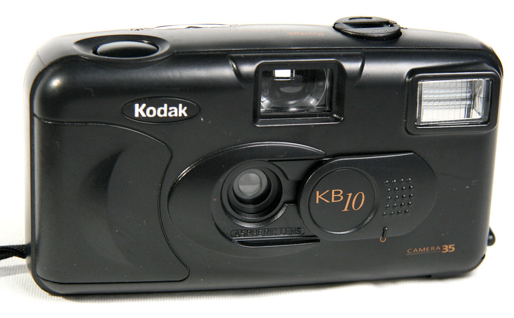 Kodak KB10 film camera | plastic point and shoot 35mm viewfi… | Flickr