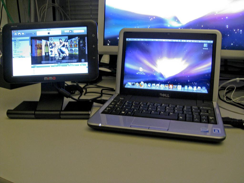 Dell Mini 9 Hackintosh w/ Mimo USB Monitor | Dell Mini 9  Bo