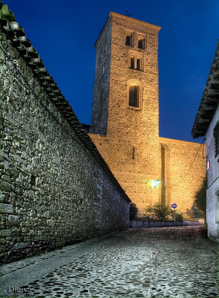 Buitrago de Lozoya, Madrid province. Church of Santa Maria del Castillo (XIVth century). Spain