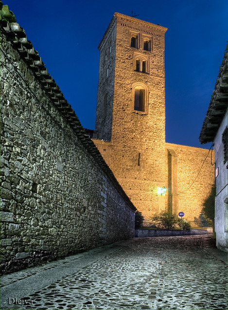 Buitrago de Lozoya, Madrid province. Church of Santa Maria del Castillo (XIVth century). Spain