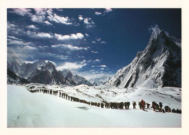 Karakoram Himalaya, Pakistan Postcard