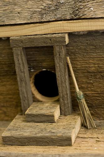 door with broom | by redhead.redneck