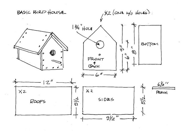 Basic Bird House Plan | let me know if you build these! tag ... on dog house plans, bunk bed plans, deck plans, residential home design plans, jewelry box plans, bird food, desk plans, picnic table plans, shed plans, bird nest, bookcase plans, coffee table plans, bench plans, bed plans, greenhouse plans, wood plans, church birdhouse plans, computer desk plans, bird feeders, bird silhouette, bird cage, bird houses to build, bird houses for doves, table plans, gazebo plans, bird houses for sparrows, chicken coop plans, porch swing plans, headboard plans, rocking horse plans, loft bed plans, arbor plans, router table plans,