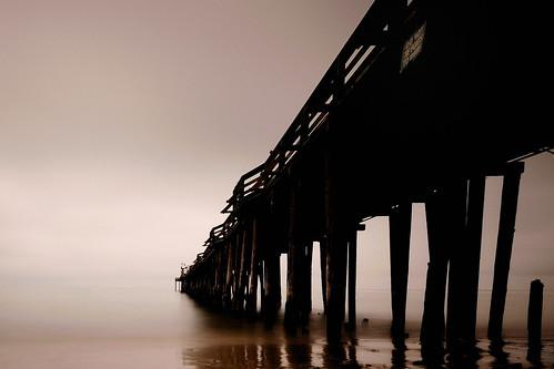ocean california longexposure bw fog sunrise nikon sigma nd capitola d300 10stop diegonyc