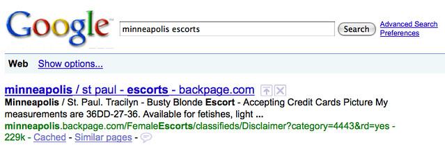 Minneapolis Escorts - Backpage Optimization