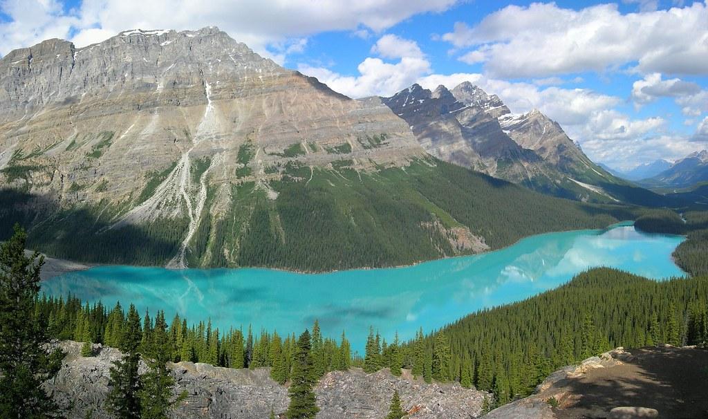 Nature - Peyto Lake, Banff National Park, Canada