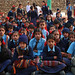 Students gather for an afternoon assembly