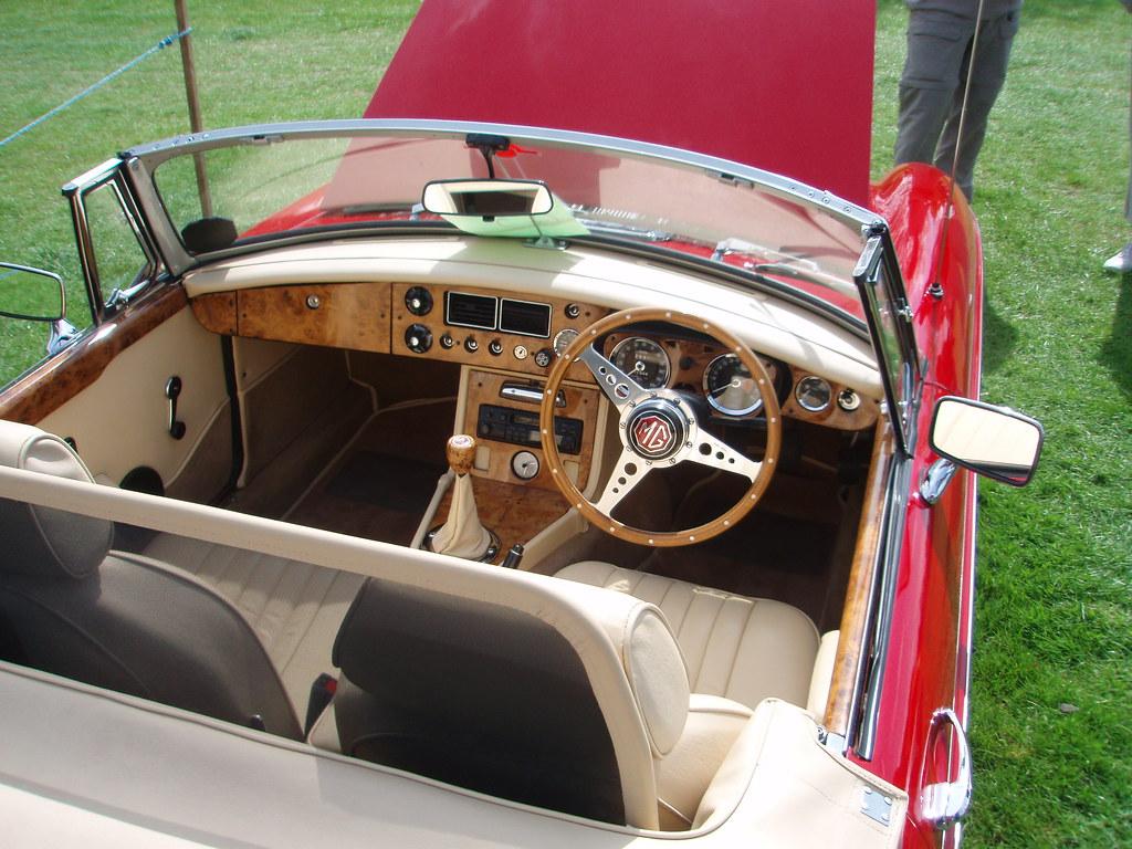 MGB wood interior   Philip   Flickr