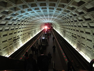 Washington DC Metro Station | by peterlfrench