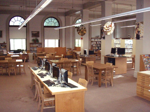 New computer desks | by Manchester Library