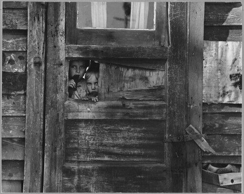 Children Living in a Camp Between Weedpatch and Lamont, Kern County, California | by The U.S. National Archives