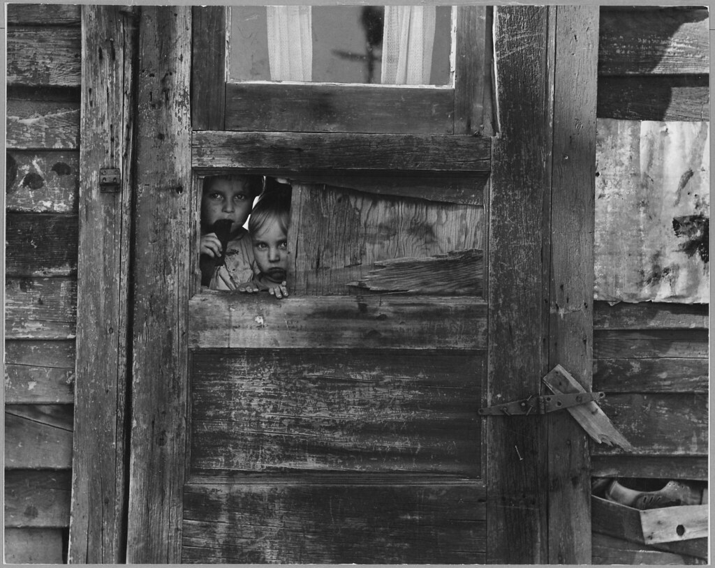 Children Living in a Camp Between Weedpatch and Lamont, Kern County, California