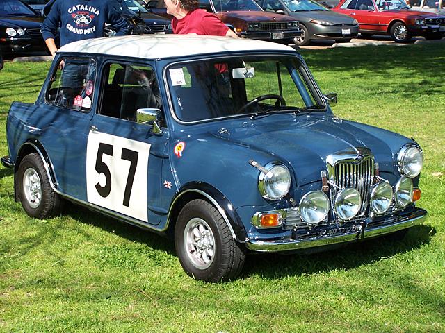 Wolseley rally car