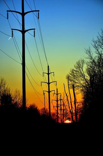 sunset sky sun lines landscape nikon power silouette explored amazingamateur