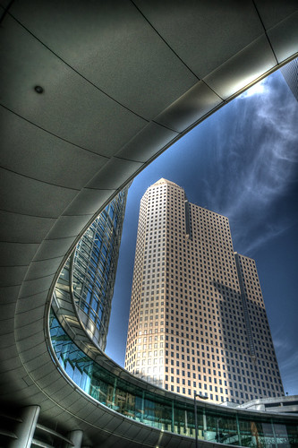 building tower architecture skyscraper texas tx houston explore photomatix