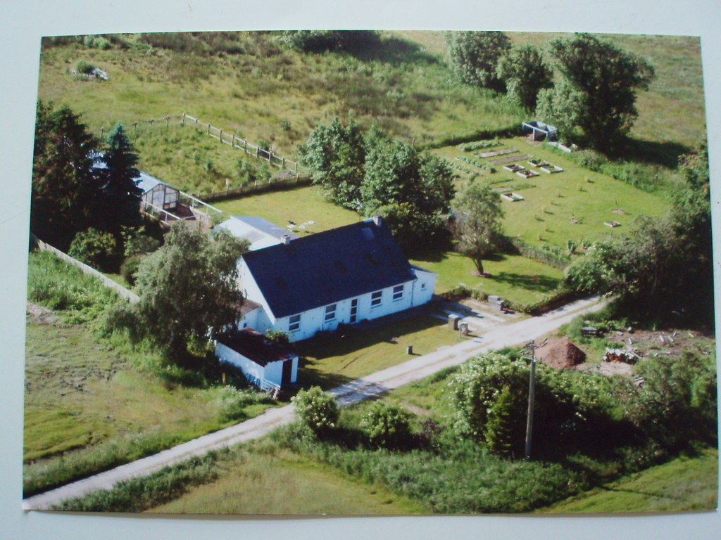 aerial view of my house    | some years ago a man knocked at