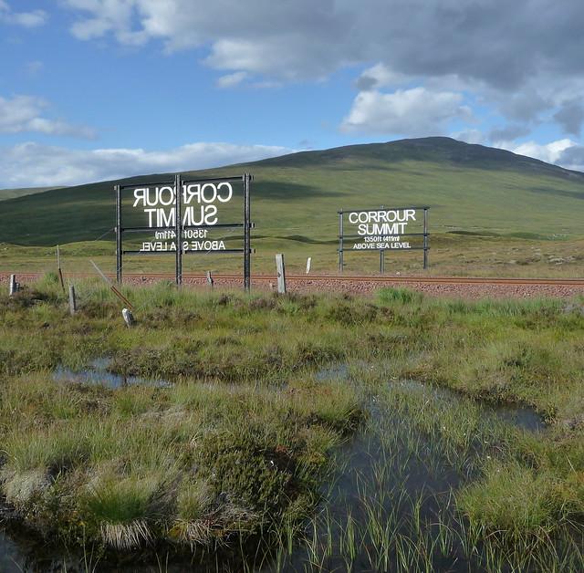 Corrour Summit - West Highland Line