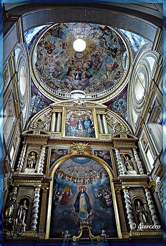 Catedral de la ciudad de Puebla de los Angeles....Cúpula principal. P1060237
