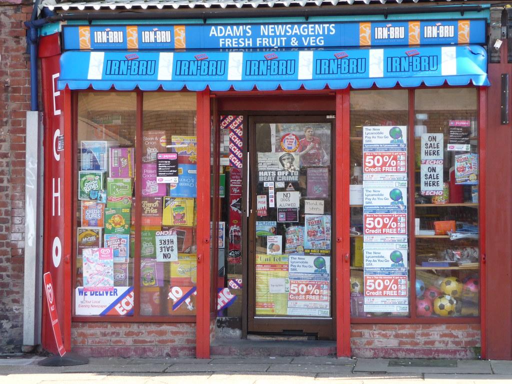 Adam's Newsagent, High Park Street, Toxteth  | Radarsmum67