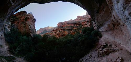 arizona panorama ruins hiking sedona canyon trail redrock snaptweet