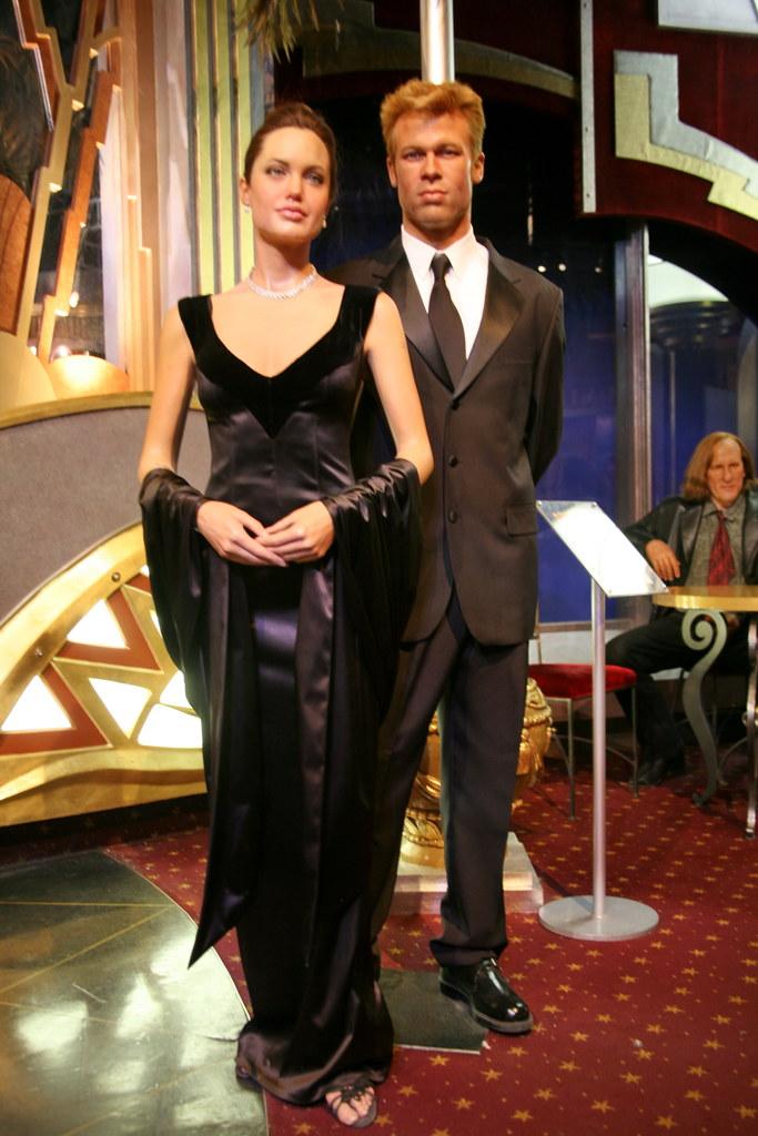 Angelina Jolie & Brad Pitt | Golden Globe award winning acto… | Flickr