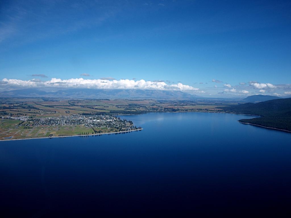 firodland national park by air