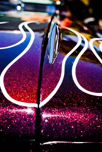 california classic car automobile cadillac flame hotrod capitola custompaint metallicflake