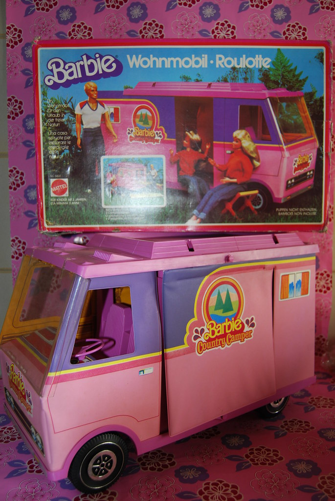 Roulotte Barbie 1980 | Flickr - Photo Sharing!