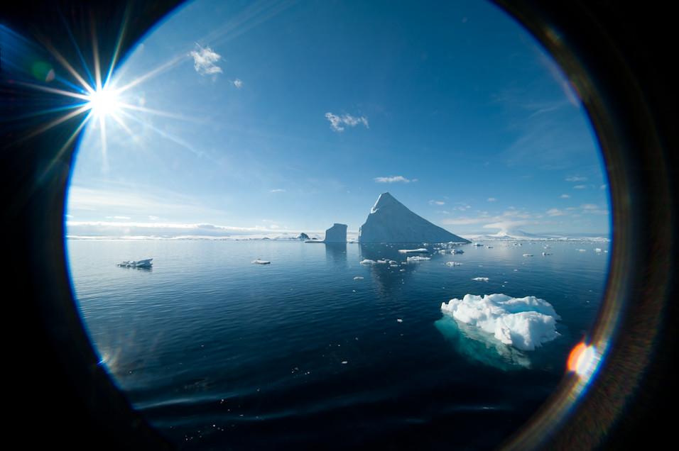 Tunnel of Icebergs
