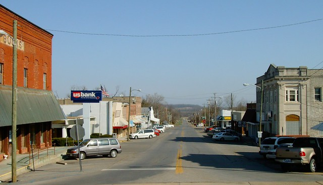 Downtown Bloomfield, Missouri